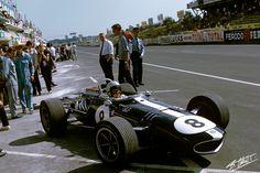 1967 GP Francji (B. McLaren) Eagle T1G - Weslake