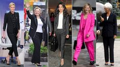 Trouser suits are big news, on the catwalk and in real life, too. Bottega Veneta, Sonia Rykiel, Paul Smith, Lemaire and Louis Vuitton all sent matching blazers and trousers down the catwalk (whether or not they showed them together), grey marl