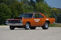 In 1968 Chrysler shipped out 80 lightweight 426 HEMI 600-horsepower, four-speed Dodge Darts to dealerships.