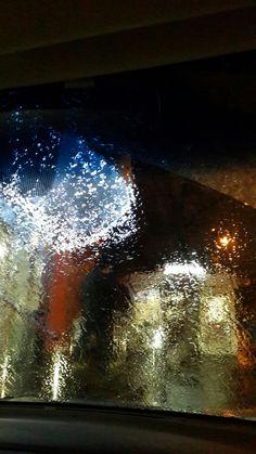 Москва. Ледяной дождь. 19.11.16 Фото из машины