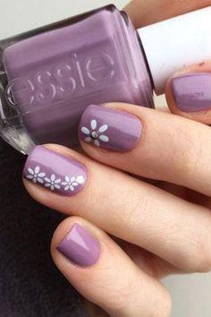 Cute Spring Nails, Spring Nail Colors, Spring Nail Art, Nail Designs Spring, Cute Nails, Flower Designs For Nails, Pastel Colors, Bright Colors, Color For Nails