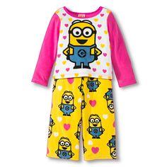 Despicable Me Toddler Girls' Fleece Pajamas