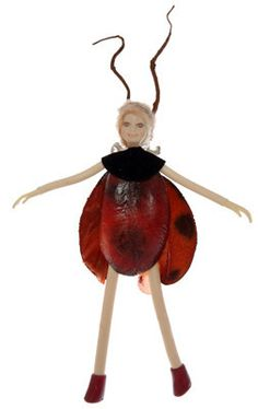 Bendable Petal Fairies Ladybug Fairy