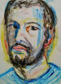 Portrait (acrylics) - vissarion g