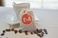 DIY Wedding Favors - Coffee Cup Wedding Favors by EmmalineBride.com
