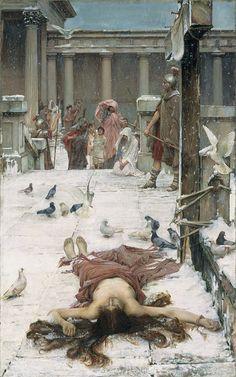 John William Waterhouse - Saint Eulalia