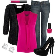 """""""Winter Pink"""" by alttra on Polyvore"""