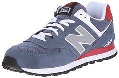 New Balance Herren ML_WL574 Sneakers, Blau (Blue/White/Red), 46.5 EU - http://on-line-kaufen.de/new-balance/46-5-eu-new-balance-ml-wl574-herren-sneakers-2