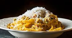 Linguine, Bon Appetit, Great Pasta Recipes, Mediterranean Recipes, Greek Recipes, Recipe Collection, Pasta Dishes, Macaroni And Cheese, Food To Make