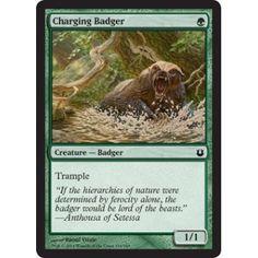 Charging Badger (foil)