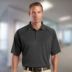 SNAG RESISTANT WICKING SHORT SLEEVE POLO XS-4XL MEN/'S GRADUATED HEATHERED