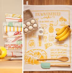 Swooning over the offerings of Hummingbird Cake, Let Them Eat Cake, Tea Towels, Kitchenware, Food Styling, Sweet Home, Baking, Private Label, Gifts