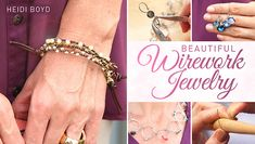Free Wirework Jewelry Online Class ... I like this! See more awesome stuff at http://craftorganizer.org