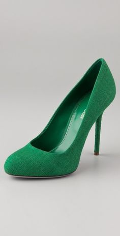 green pump