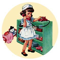 Nurse Nancy, Circa 1950s