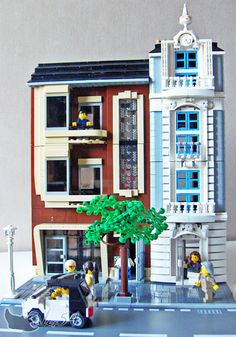 Lego houses - cool
