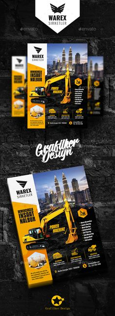 #Construction #Flyer Templates - Corporate Flyers