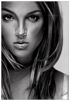 Britney Spears - In The Zone drawing Artist: chazdesigns (deviantART) #Britney #drawing #art