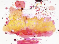 Gaucin, mixed media on paper | ALISON COOLEY