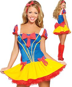 DISNEY SNOW WHITE HALLOWEEN CARNIVAL CHRISTMAS COSPLAY COSTUMES FOR WOMEN LADIES FANCY DRESS PARTY ROLEPLAY