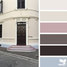 today's inspiration image for { a door tones } is by @maiorica.it ... thank you, Marilou, for another wonderful #SeedsColor image share!