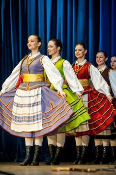 Folk costumes from Warmia region