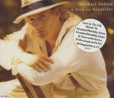 "For Sale - Michael Bolton A Love So Beautiful UK  CD single (CD5 / 5"") - See this and 250,000 other rare & vintage vinyl records, singles, LPs & CDs at http://eil.com"
