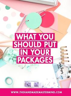 What you should put in your packages. Packaging insert tips. Handmade packaging tips business What You Should Put In Your Packages — The Handmade Mastermind Craft Packaging, Pretty Packaging, Packaging Design, Packaging Ideas, Food Packaging, Coffee Packaging, Bottle Packaging, Product Packaging, Label Design