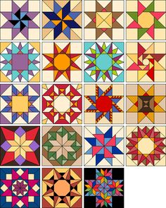 Distinctive Stars | Products | The Electric Quilt Company