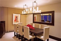 Dining Room by Alexandra Karram in Miami, Florida