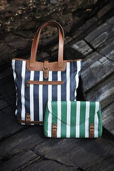 Anthropologie tote and clutch