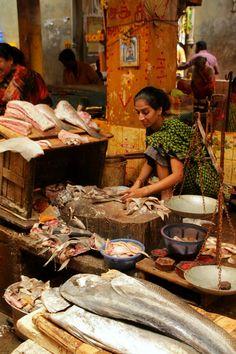 Pondicherry Market, India