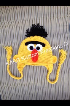 Sesamstraat Bert hoed