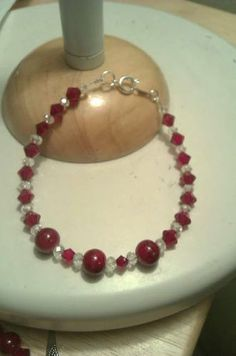 Raging Red Bracelet. Starting at $4 on Tophatter.com!