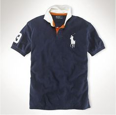 Ralph Lauren Darkblue Pony Polo Men Fashion