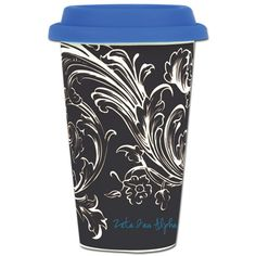 Zeta Tau Alpha Sorority Coffee Cup $15.95 #Greek #Sorority #Clothing #ZTA #Zeta #ZetaTauAlpha