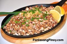 Squid Sisig Recipe | Panlasang Pinoy