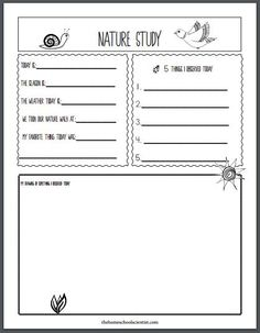 Nature Study The Charlotte Mason Way - The Homeschool Scientist