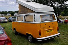 Just as era Chevys sported ornate exteriors with fins and wood siding, most of the RVs of yesterday were not short in the eye-candy department. Vintage Rv, Wood Siding, Volkswagen Bus, Road Trip Usa, Campervan, Motorhome, Lady Bug, Woods, Engine