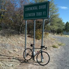 On the way to Pinos Altos, NM - at the Devide