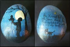 Für eine Familie deren Großvater vor der Geburt der Enkeltochter verstarb. Stone Painting, Art, Lentils, Artworks, Birth, Art Background, Rock Painting, Kunst, Art Education