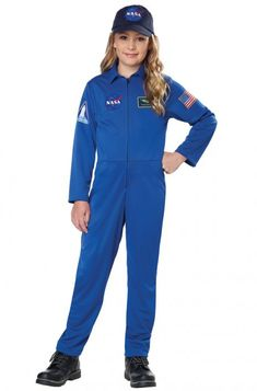When you wear this official NASA jumpsuit, you can become a rocket scientist and start training for time on the space station! This cool costume is great for career day, school projects, or Halloween.