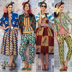 All Things Ankara: Lookbook: Stella Jean Spring Summer 2014 (Womenswear)