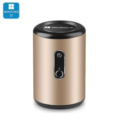 The Intel Mini PC comes with a uniquely compact design and a nice set of features, including Wi-Fi and Bluetooth support, as well as a camera. Quad, Wi Fi, Bluetooth, Electronics Gadgets, Technology Gadgets, Discount Electronics, Microsoft Windows 10, Mini Pc, Home Internet