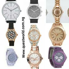 New Arrivals Get a wardrobe upgrade now! #wristwatch #watch Nationwide Delivery from 24hrs. Pay on delivery within Lagos www.questworld.com.ng