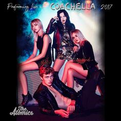The Atomics will be playing on Coachella in April 2017 and free performance at H&M's Times Square store in NYC on March 16th.