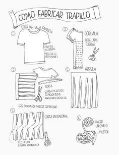 Como fabricar trapillo