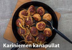 Kariniemen kanapullat, resepti: Kariniemen #kauppahalli24 #ruoka #reseptit #kanapullat