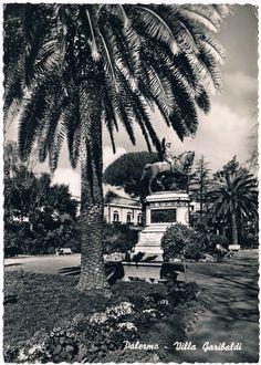 PALERMO - Villa Garibaldi - 1958