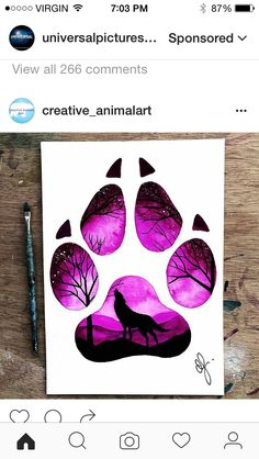 52 Ideas For Drawing Tattoo Tiger Wolves – Galaxy Art Colorful Drawings, Cute Drawings, Animal Drawings, Tattoo Drawings, Drawings Of Tigers, Tattoos, Galaxy Painting, Galaxy Art, Wolf Artwork